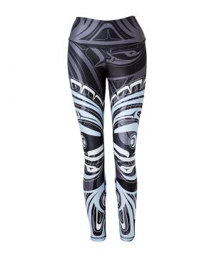 Wolf and Moon Legging